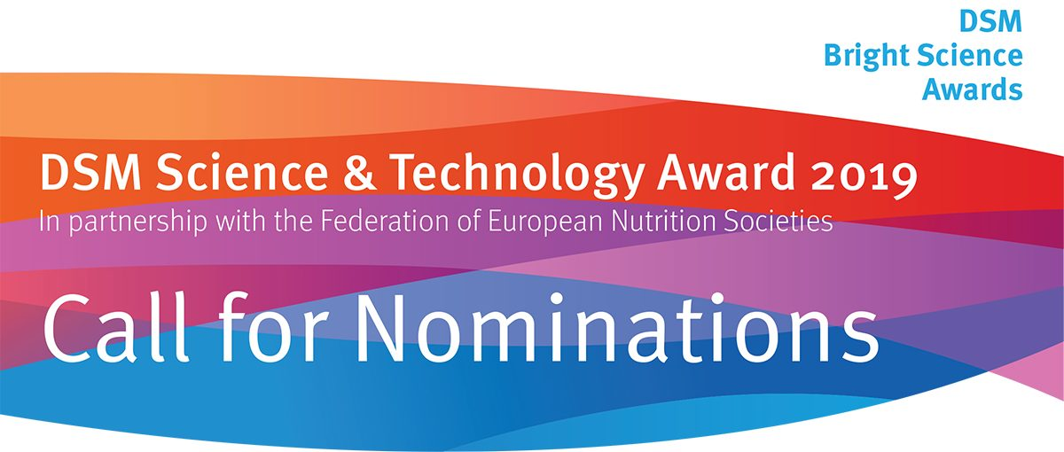 DSM Science & Technology Award 2019 – FENS 2019 – 13th